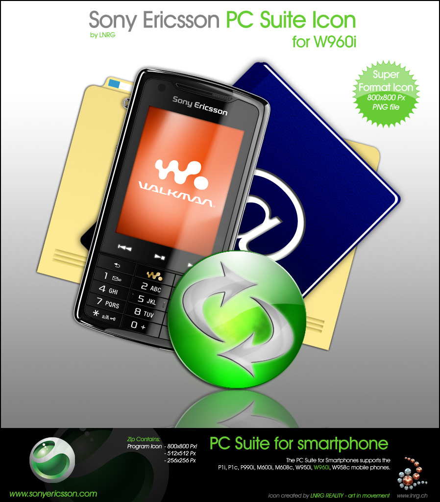 Sony Ericsson PC Suite for W960i