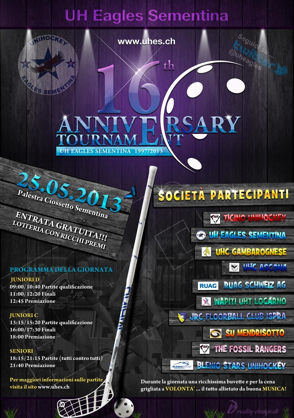 Flyer 16th Anniversary Tournament